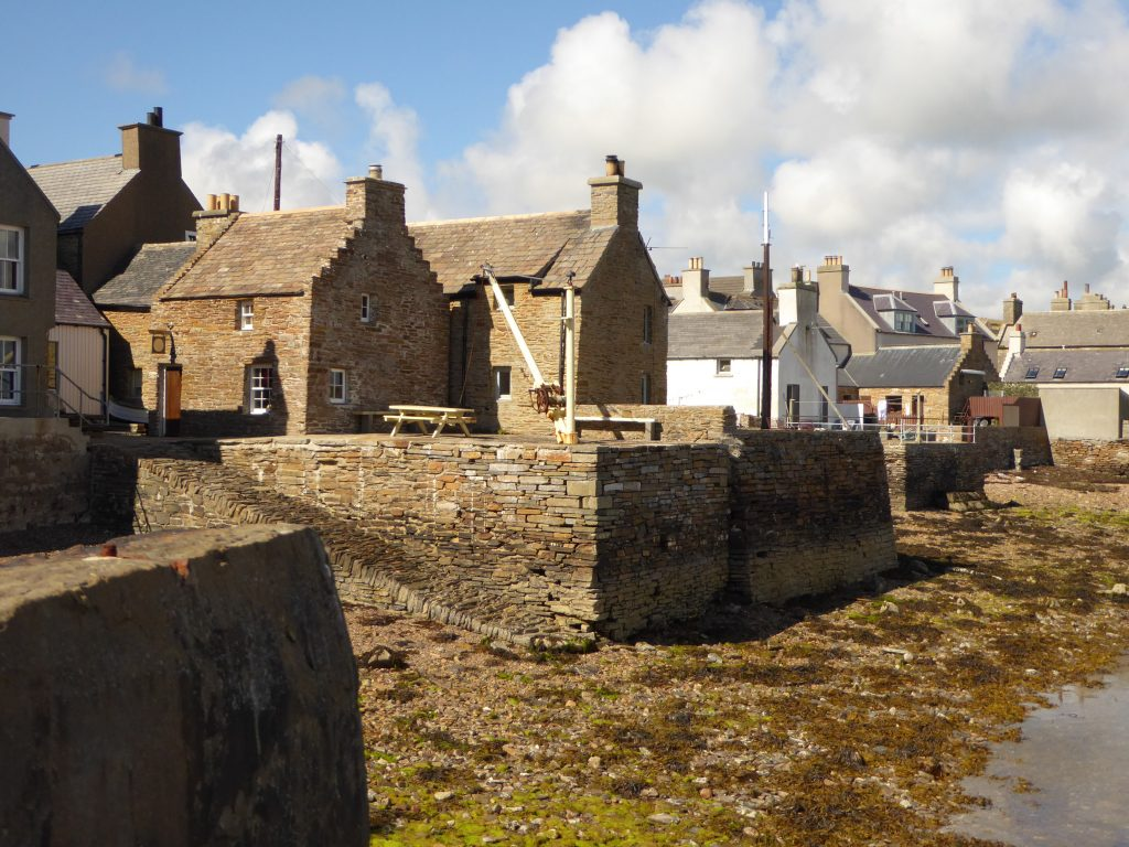 Stromness a a sunny day