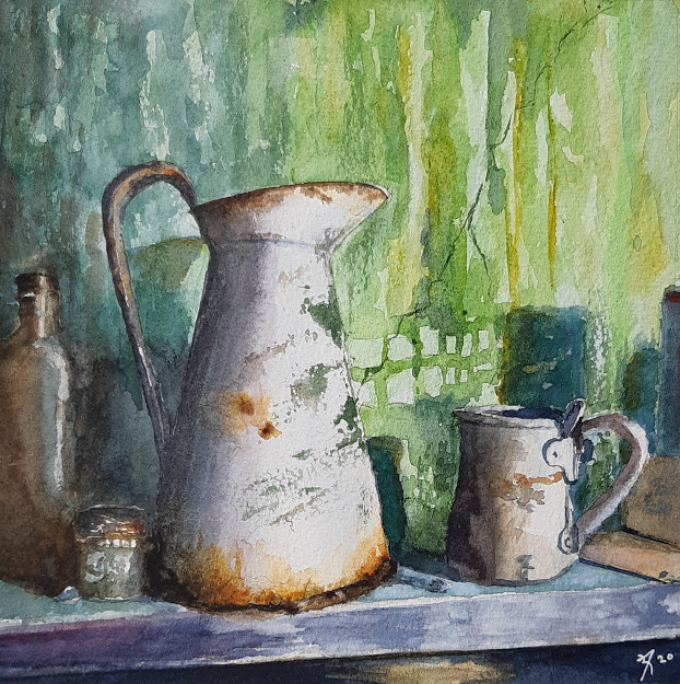 stilllife with jar Swona