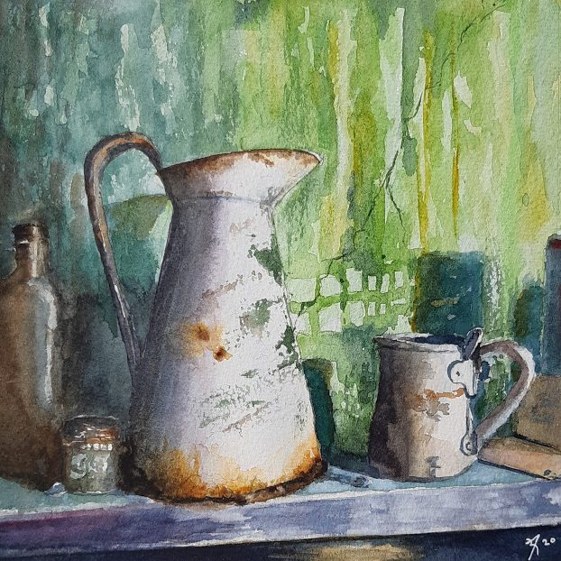 stilllife with jar Swona
